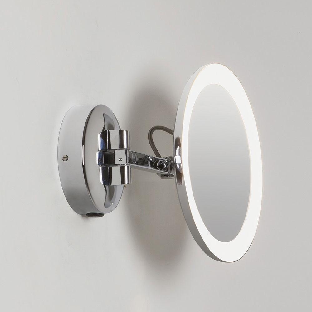 Mascali LED mirror - Polished Chrome